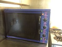 Commercial kitchen counter top fan electric oven