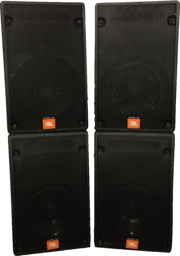 4x JBL Control 8SR Speakers