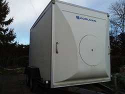 buy Lynton Koolman Refrigerated 10x6 Twin Axle Box Trailer
