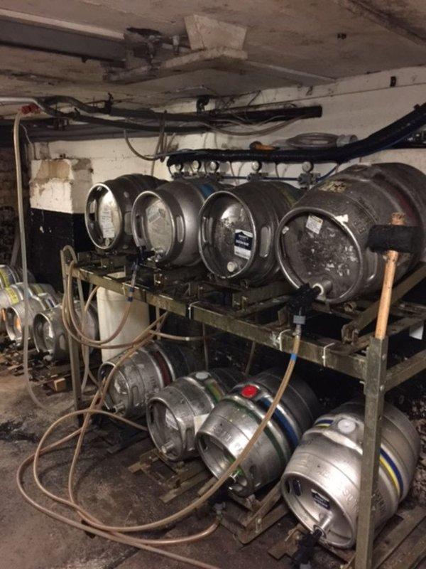 Cellar racking system