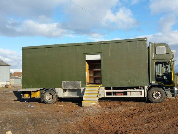 17t fridge and freezer lorry