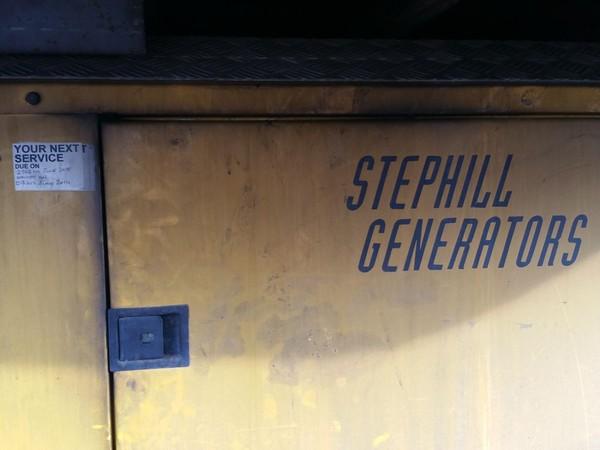 fridge and freezer lorry generator