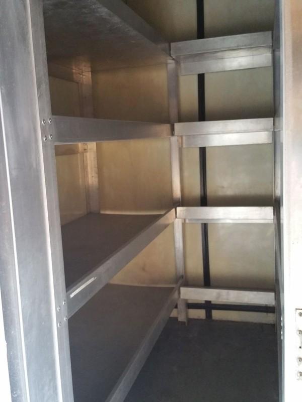 fridge and freezer lorry shelving