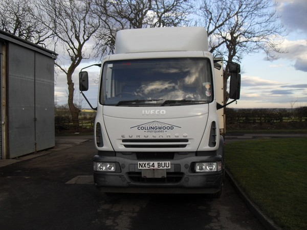 Front of Iveco Eurocargo 18t Lorry