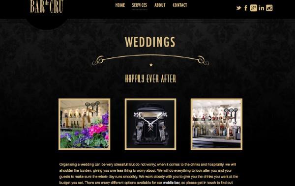 Bar de Cru website