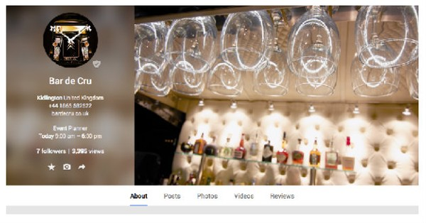 Google+: www.plus.google.com/ +BardecruCoUkSGevents/