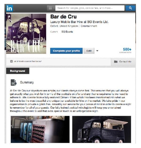 LinkedIn: uk.linkedin.com/in/bardecru/