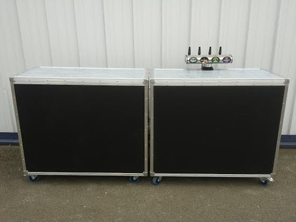Secondhand Mobile Bar with Dispense System for sale