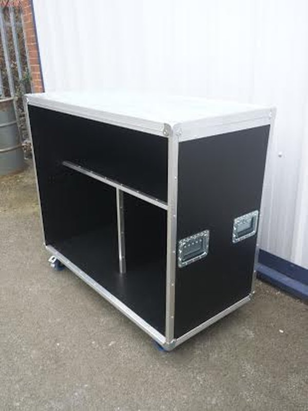 4foot Mobile Bar Flight Case Style