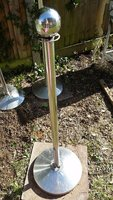 5 stainless steel barrier posts