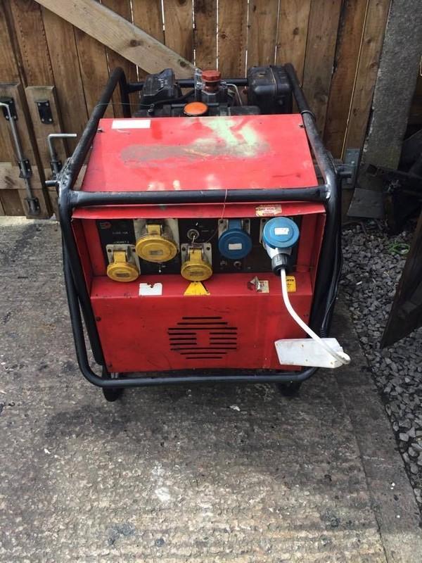 240v Electric start generator