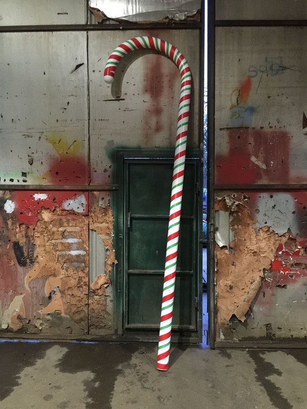 Secondhand Prop Shop Christmas Giant Candy Canes