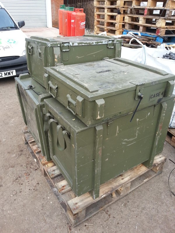 MOD transport boxes