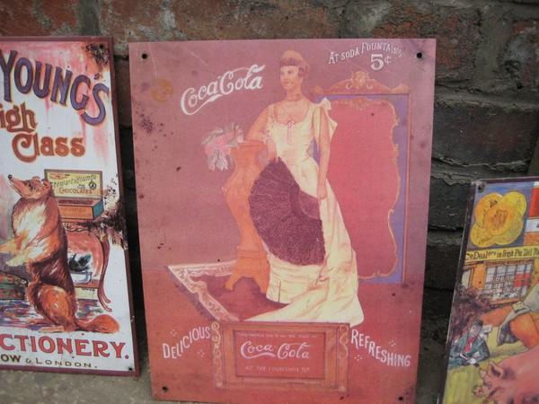 1904 ? Vintage Coc Cola sign