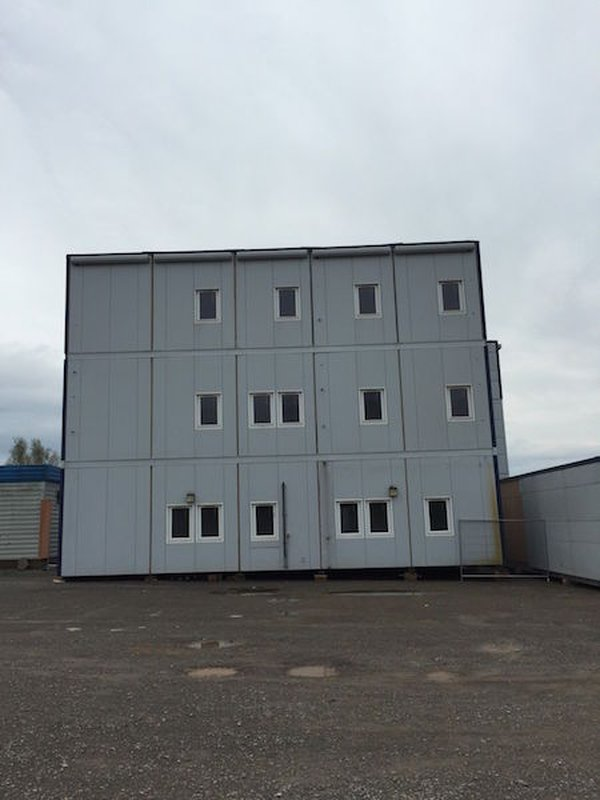 15 Bays 3 Storey Office Canteen Welfare Toilet Accommodation