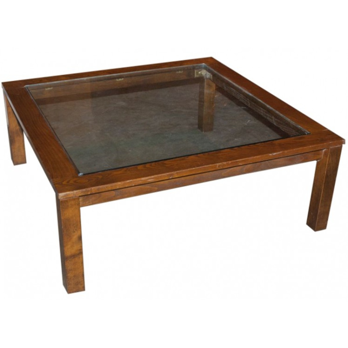 Secondhand hotel furniture lounge and bar large square for Big glass coffee table