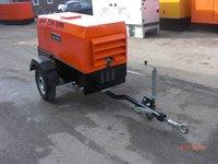 2006 20kva Yanmar Diesel Generator on a trailer