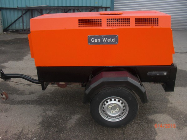 2006 20kva Yanmar Diesel Generator on a trailer for sale