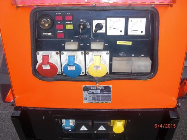 Secon Hand 2006 20kva Yanmar Diesel Generator