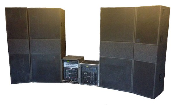 Electro-Voice MT4 + MT2 Sound System