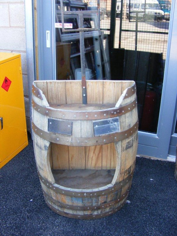 display barrels