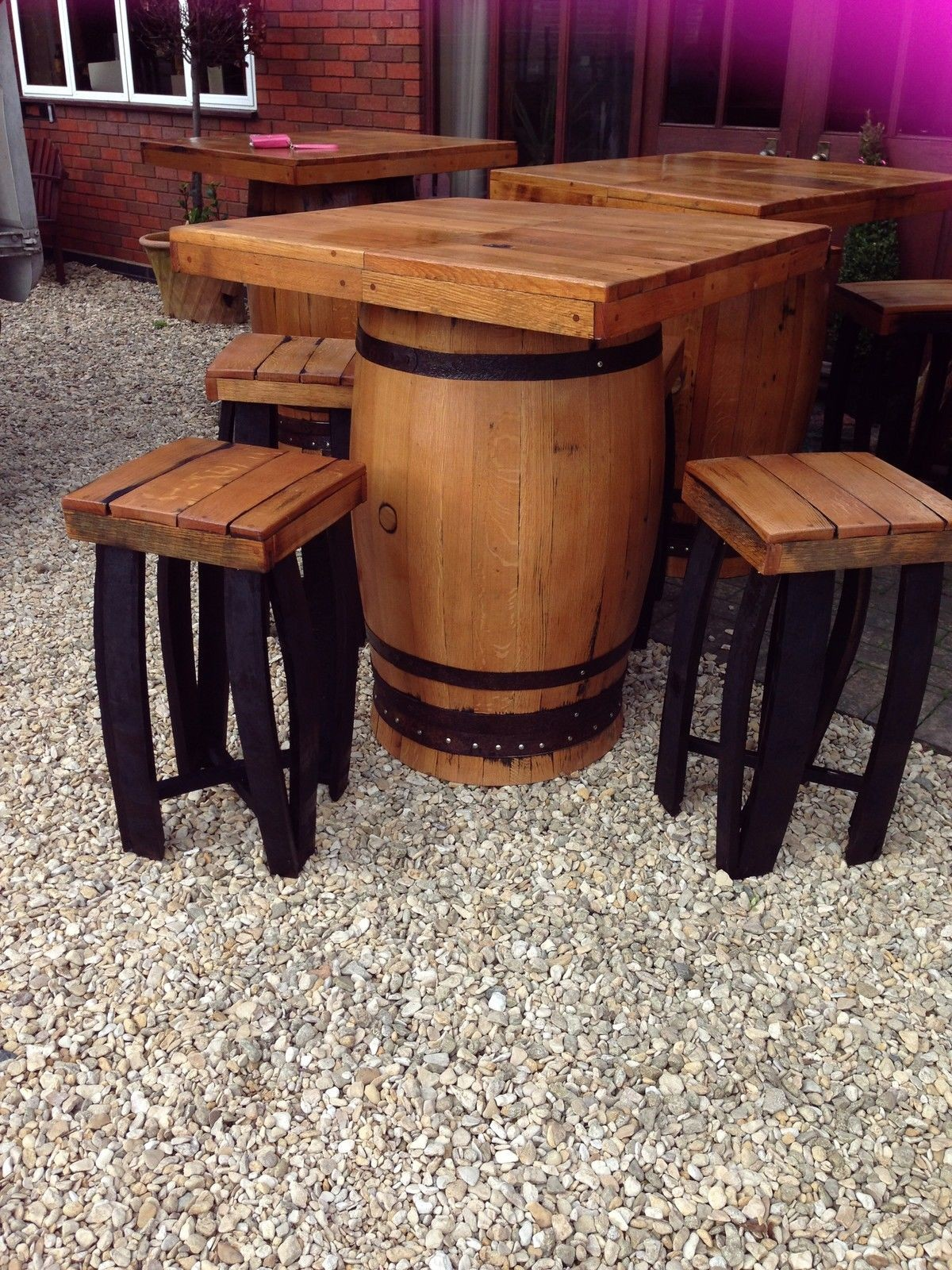 Secondhand Vintage and Reclaimed Pub Tables