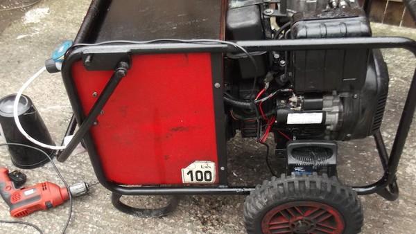 Brooke Thompson 6kVa Diesel Generator