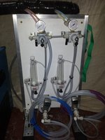 2 Product Beer Dispense Board with Cleaning System