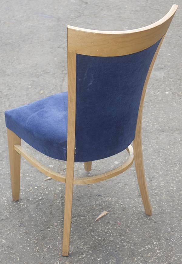 buy blue upholstered chairs