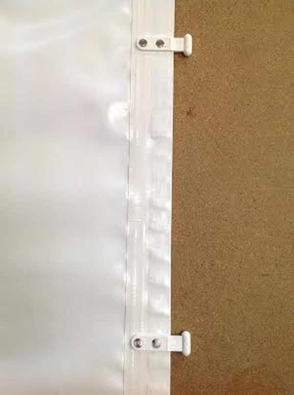 Marquee gutter with cador bullets