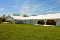 25m wide marquee