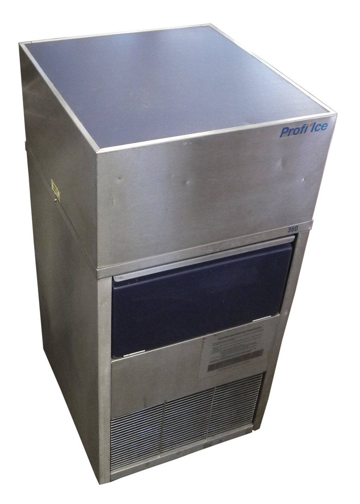 Secondhand pub equipment ice machines profinox ice for Ice makers for sale