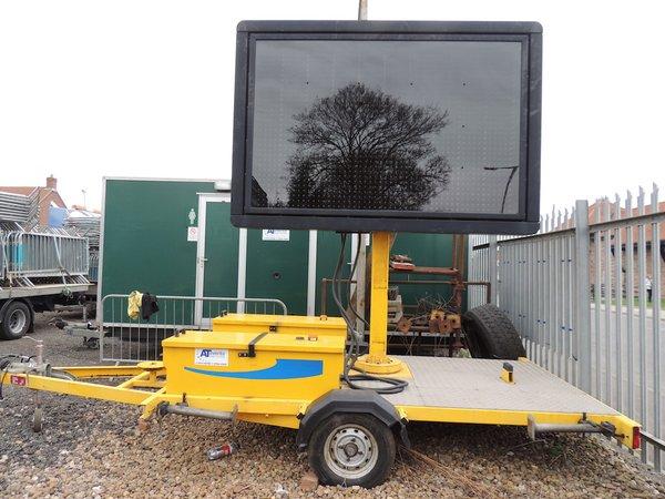 Mobile Matrix sign trailer