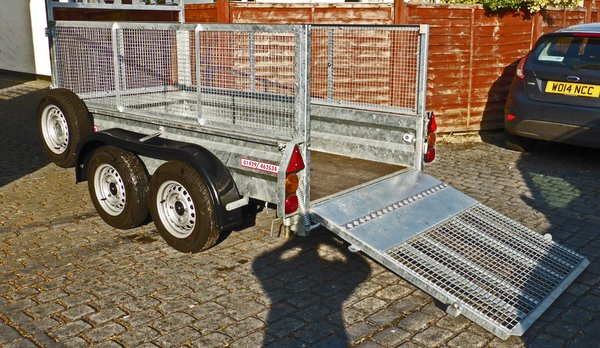 Wessex Trailers WG84T twin axle 8' x 4' trailer