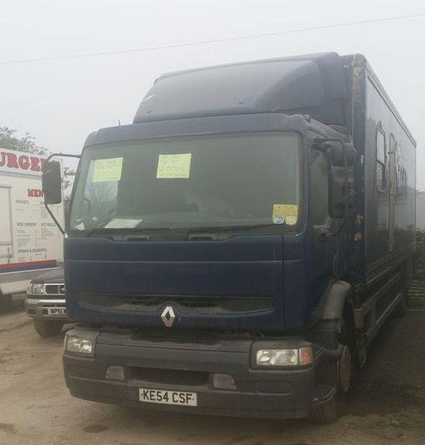 18 ton Lorry