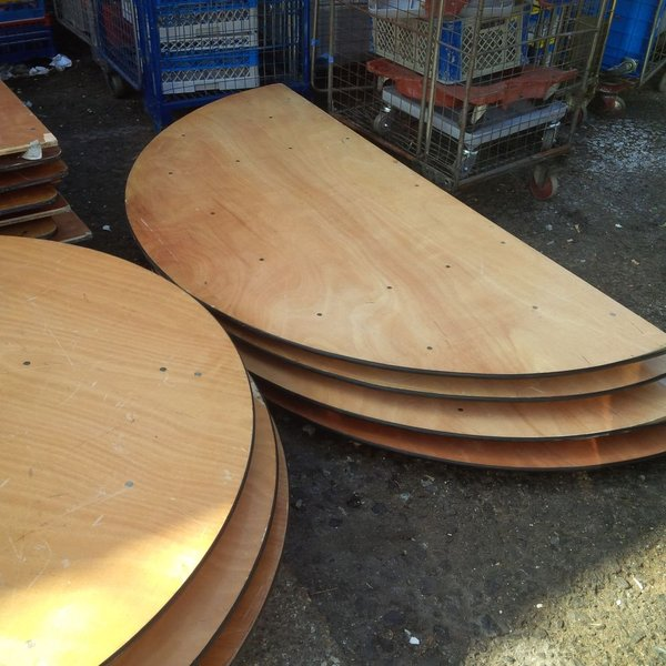 Round and Half Moon Tables