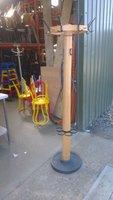 Heavy duty coat hanger - umbrella stand
