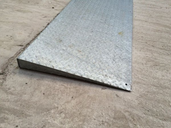 Steel door ramps