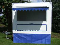 8' x 6' General Purpose GRP Catering Trailer