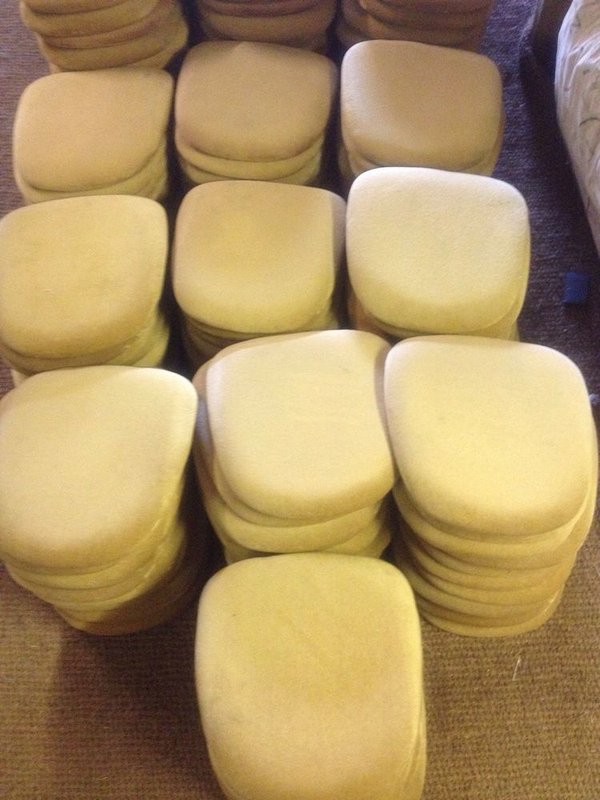 Gold seat pads for sale