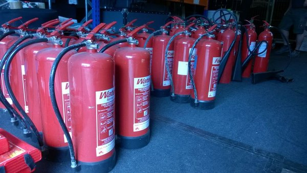 Fire Extinguishers  Water
