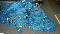 Power Cables 16a Job Lot
