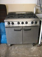Falcon Dominator 6 Burner Gas Cooker