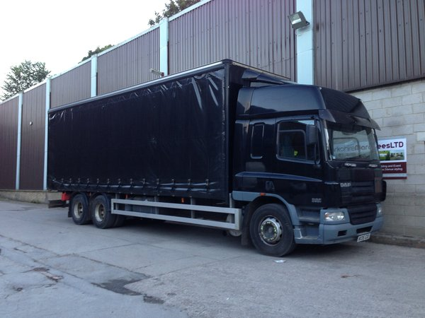Daf 75.310. 2005 Cutainsider, 26 tonne