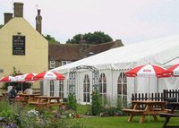 12m by 24m Roda Clear Span Marquee With Lining