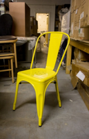 Yellow Tolix Chairs