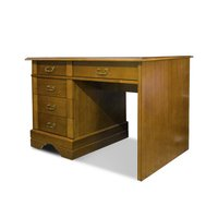 EugeniaSingle Pedestal Desk
