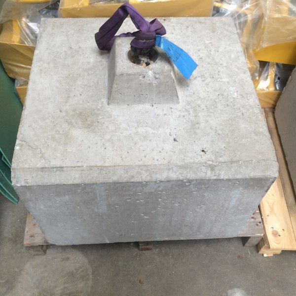 Concrete Blocks for marquee weights
