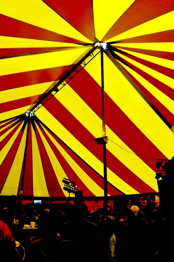 Stripy Big top for sale