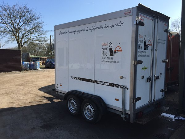 Mobile Refrigerated / Freezer Trailer